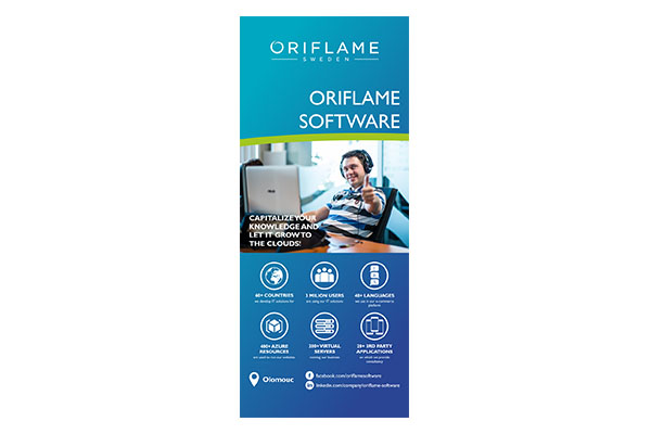 Roll-up pro Oriflame Software